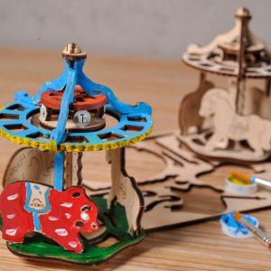 Puzzle 3D Carusel